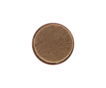 NAIL WITH FELT (BROWN)